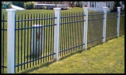 Residential+Commercial Metal Fence Sales and Installation Green Bay Wisconsin